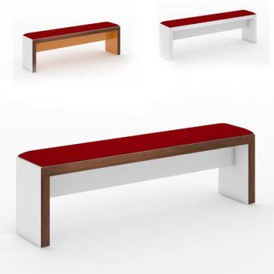 Slab Upholstered Bench