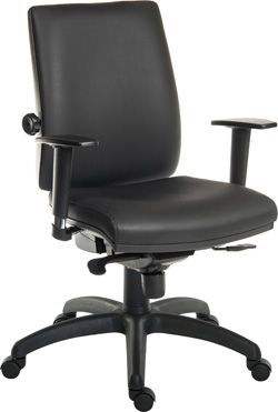 Ergo Star Chair Leather Look