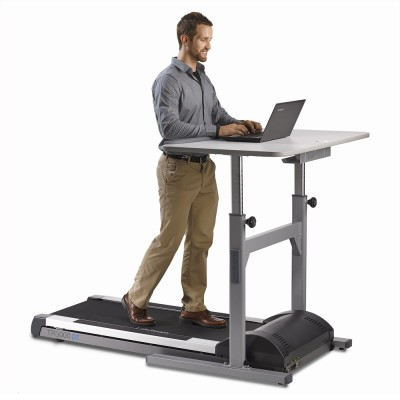 Lifespan Treadmill Desk With Manual Height Adjustment