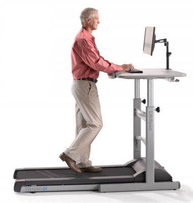 Treadmill Desk With Manual Height Adjustment