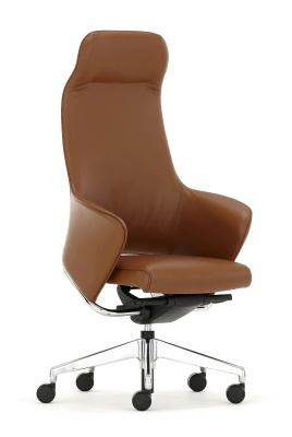 Rhapsody High Back Chair Front Angle