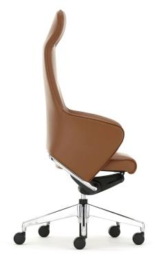 Rhapsody High Back Chair Side Angle