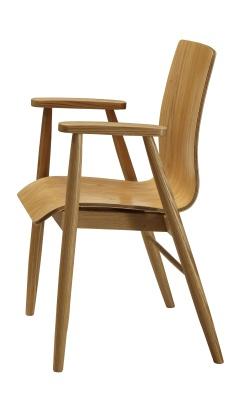 Memo Designer Ash Veneer Chair