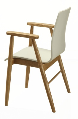 White Ash Designher Arm Chair