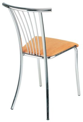 Baleno Chair With A Wood Finish Seat