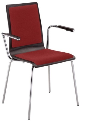 Piazza 7 Arm Chair With Upholstered Seat And Back