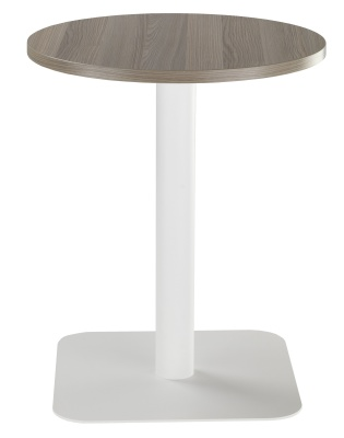 Duke Contract Table With A Round Walnut Top
