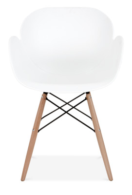 Eames Inspired Butterfly Chair With Wooden Legs Fromt Gace