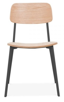 Rica Chair Ghwith A Black Frame Front Face