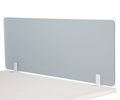 Xtra Vakle Frosted Desk Screen
