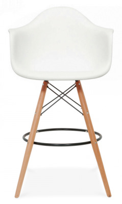 Eames DAW High Gstool Face Shot With A White Seat