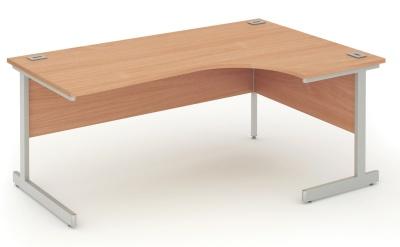 Abacus Right Hand Corner Desk