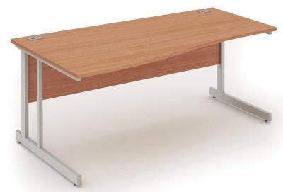 Abacus Left Hand Wave Desk