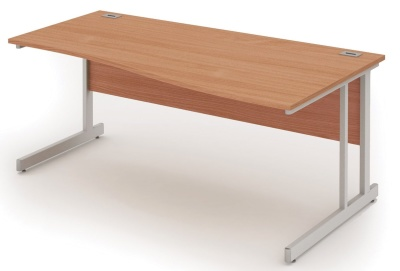 Abacus Right Hand Wave Desk