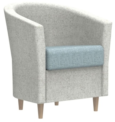 Accolade Tub Chair With Wooden Feet