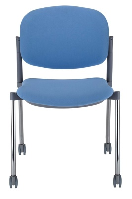 Trapeze Mobile Conference Chair Front View