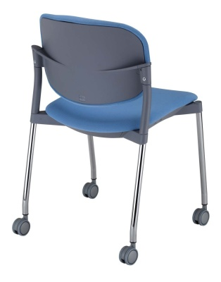 Trapeze Mobile Conference Chair Rear Angle
