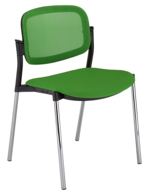 Trapeze Mesh Back Conference Chair