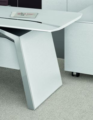 Meteor Executive Desk Leg Detail