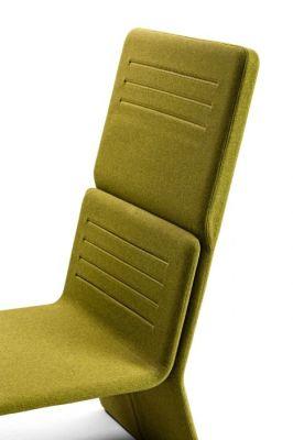 Shey High Back Modular Chair Side Detail