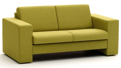 Park Box Style Two Seater Sofa