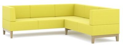 Fence 5 Seater L Shaped Sofa