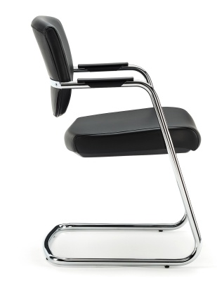 Key Cantilever Low Back Conference Chair Side View