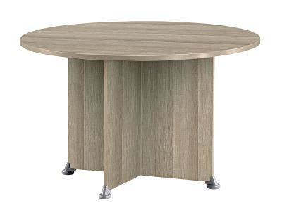 Jazz Circular Table Drift Oak Finish