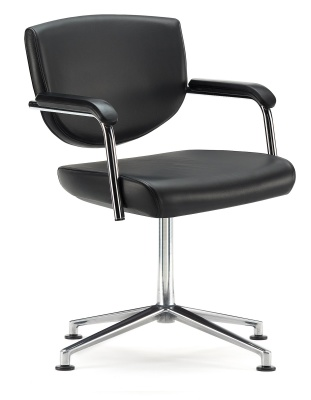 Key Four Stsr Swivel Conference Chair