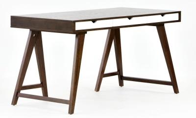 Rowan Trestle Desk Front Angle