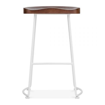 Bombay High Stool White Frma Front Face