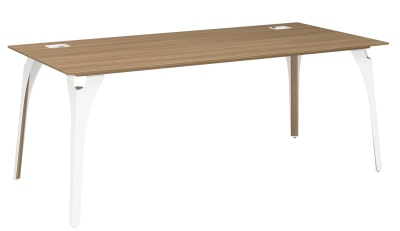 Xenon Executive Desk With Metal Legs