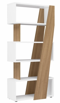 Xenon Designer Shelving Unit In Cherry