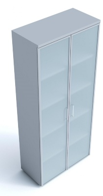 Kompass Cupboard With Frosted Glass Doors