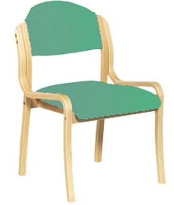 Derbuy Side Chair Aqua Fabric