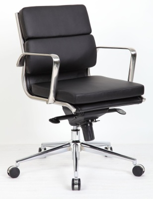 Topaz Eames Style Medium Back Executive Chair