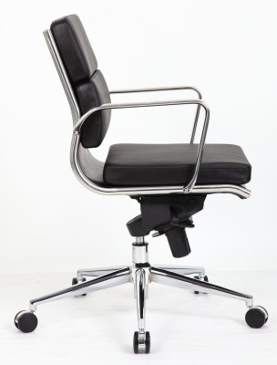 Topaz Medium Back Eames Style Executive Chair Sideways Shout