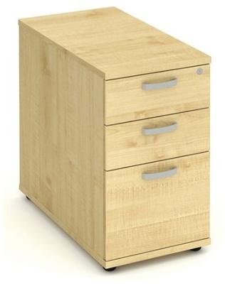 Revolution Desk Height Pedestal In Maple