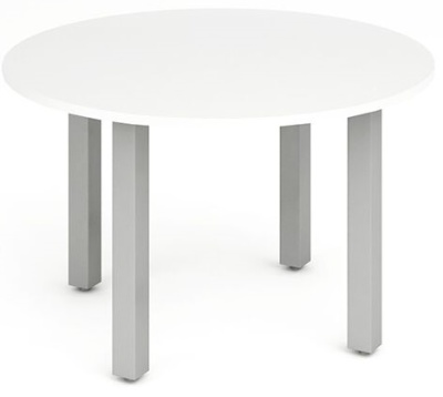 Revoloution Circular Table With A White Top
