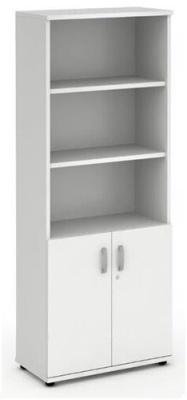 Revolution Tall Combination Cupboard In White