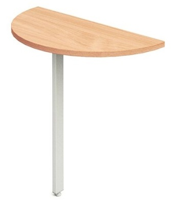 Revoloution Desk End Extension With A Beech Top