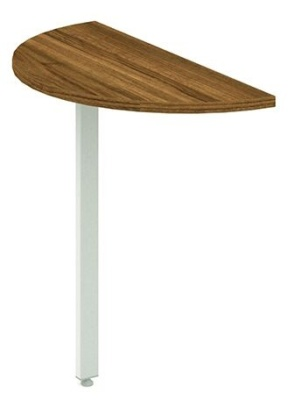 Revolution Desk End Extension With A Walnut Top