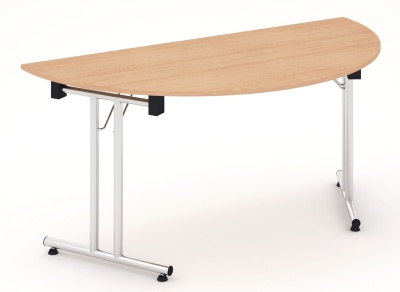 Revolution Half Moon Folding Table