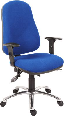 Ergo Dynamic Chair With Optional Height Adjustable Arms And Polished Base