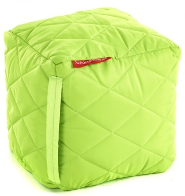 Buster Large Cube In Lime Green