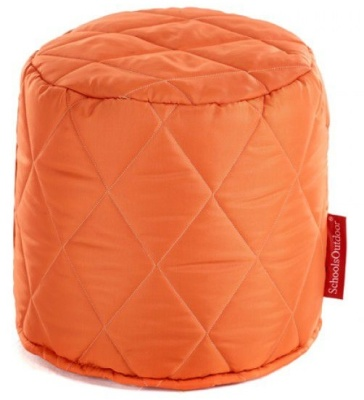 Buster Round Stool In Orange