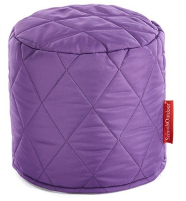 Buster Round Stool In Puple