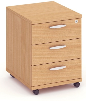 Abacus Express Three Drawer Mobile Pedestal