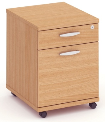 Abacus Express Two Drawer Mobile Pedestal