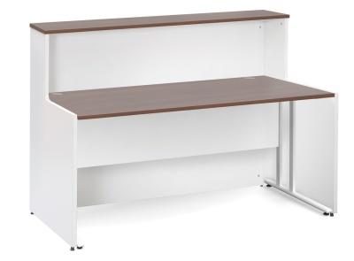 GM Reception Desk With A Walnut Top